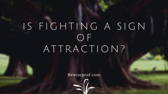 Photo of Is fighting a sign of attraction?