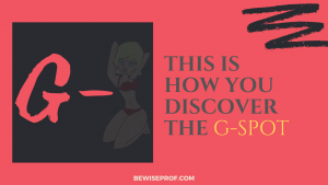 This is how you discover the G-spot
