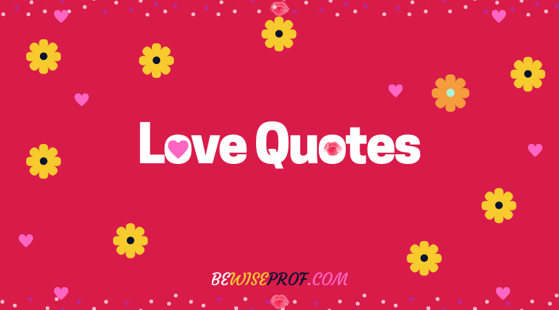 Photo of I love you quotes