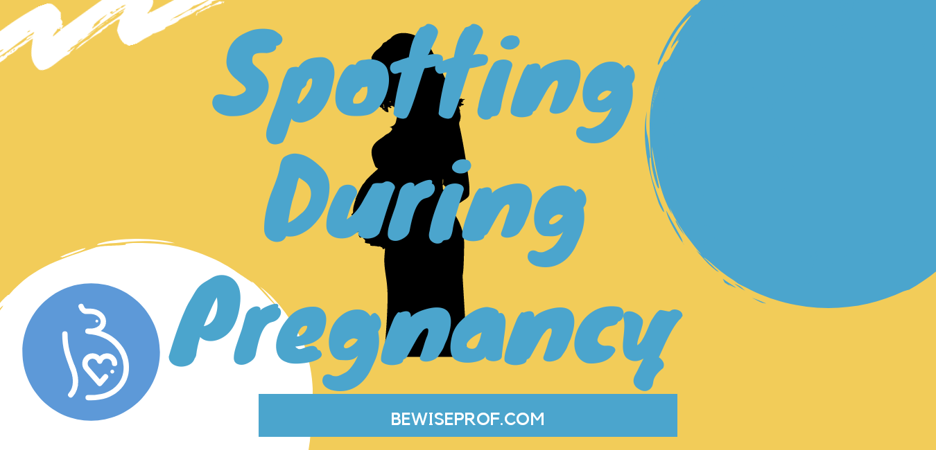 Photo of spotting during pregnancy