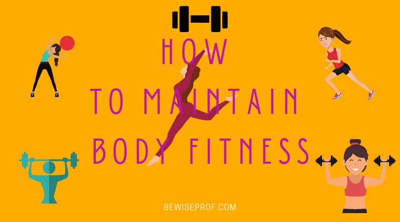 Photo of Body fitness plan