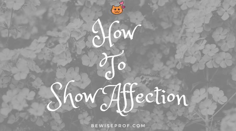 Photo of How to show affection
