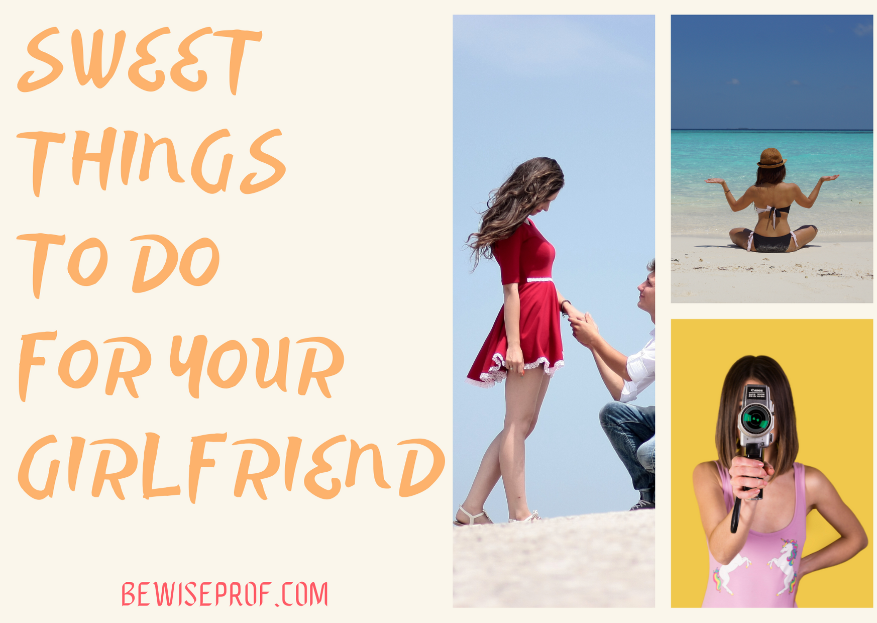 Sweet Things To Do For Your Girlfriend