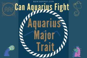 Aquarius major trait