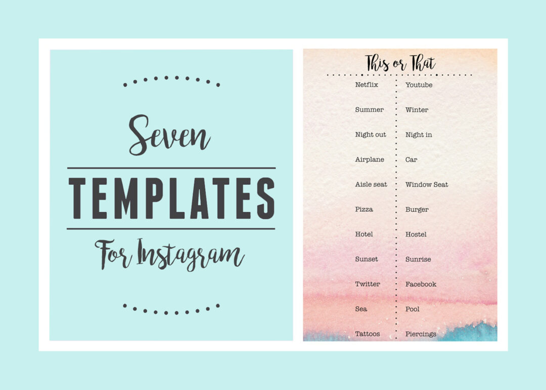 Photo of Ways To Make Use Of Instagram Stories Templates For Your Brand