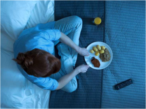 Eliminate certain foods before bedtime